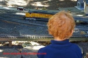 Boy and Train